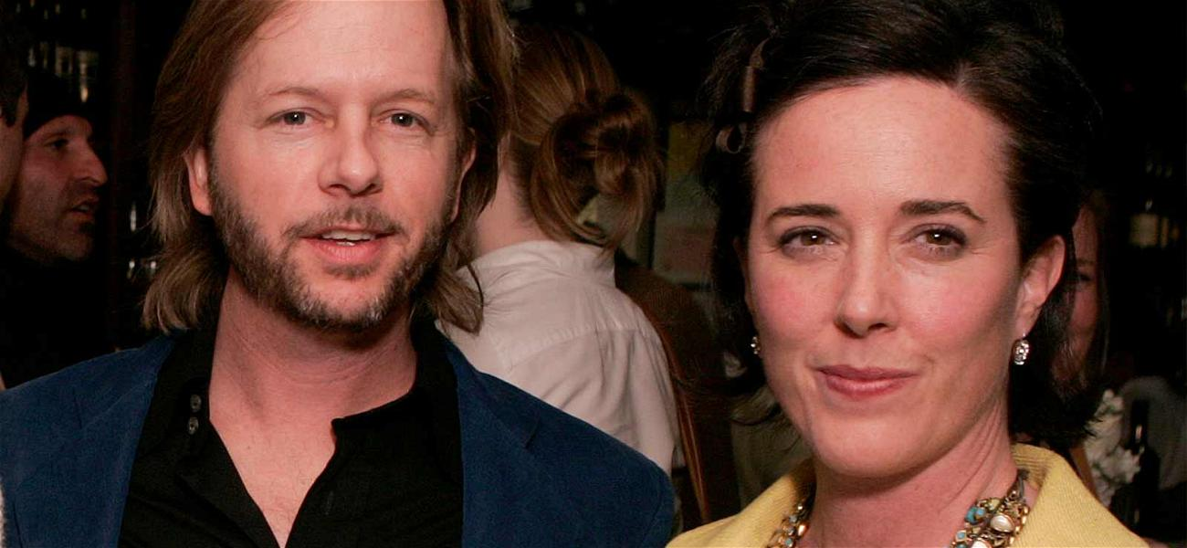 David Spade Donates $100K to Help People With Mental Illness After Kate Spade's Death