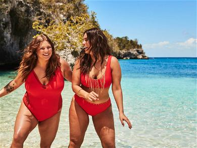 Ashley Graham and Her Little Sister Pose in Bikinis For New Campaign