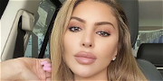 Larsa Pippen Scorches With Snatched Body In Tiny Animal Print Bikini