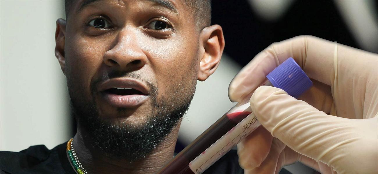Usher Accuser Demands Singer Give Blood Samples