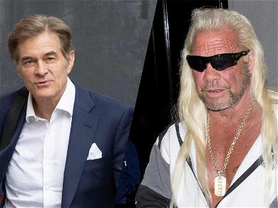 Dr. Oz Hunted Dog The Bounty Hunter Down Because He Was 'Running From The Truth' About His Health