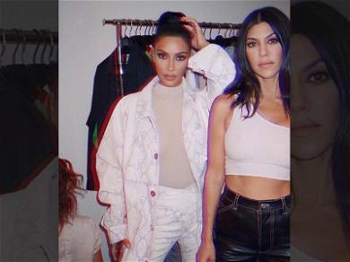 Kim Kardashian Backtracks on Kourtney 'Least Interesting to Look At' Slam