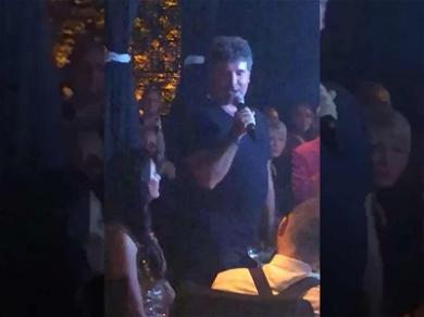 Simon Cowell Praises Wife Lauren During Walk of Fame Star Party