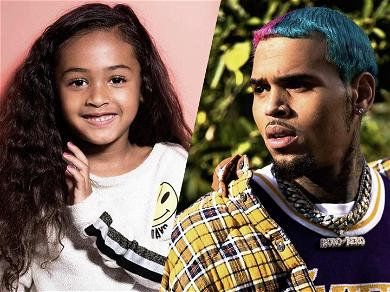 Chris Brown's Ex Says Daughter Royalty's Going To Be Bigger Star Than Daddy