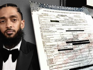 Nipsey Hussle Death Certificate Says He Died of Fatal Gunshot Wounds
