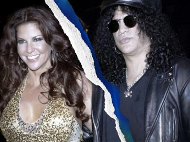 Slash and Wife Score His and Her Mansions During Divorce