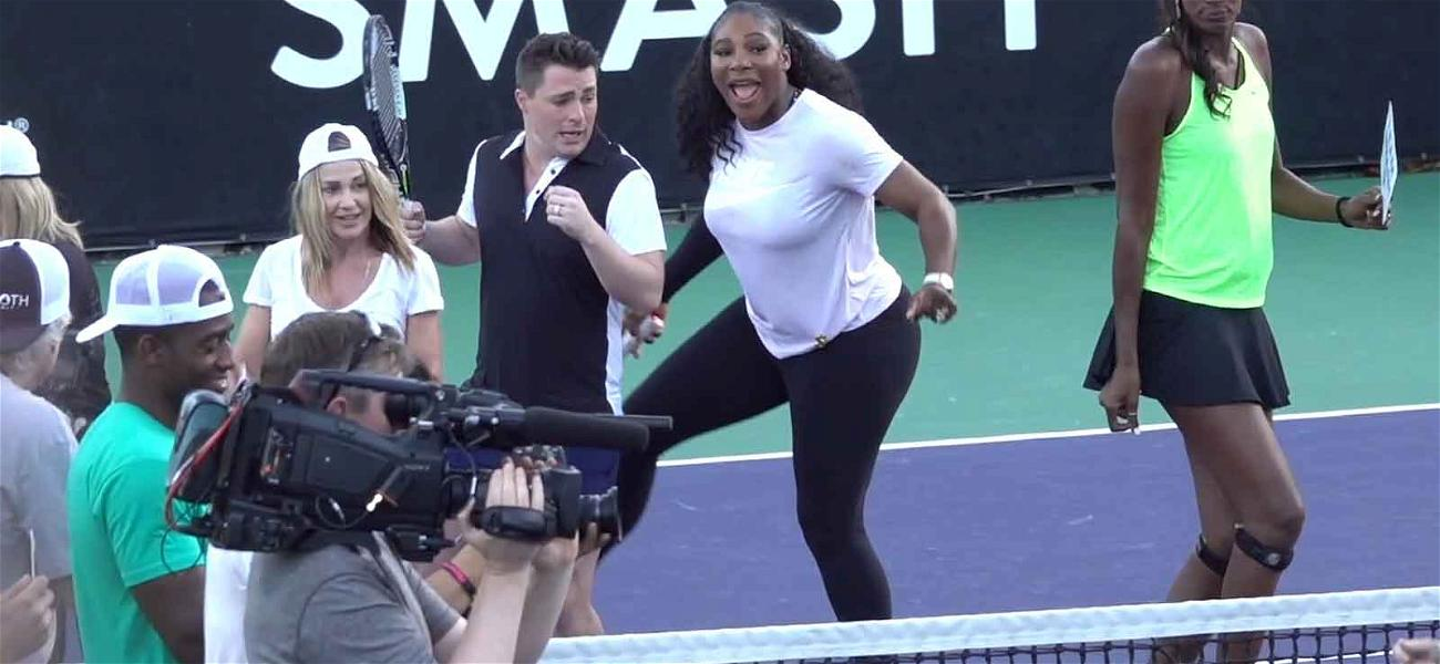 Serena Williams and Lisa Leslie in On-Court Dance-Off Set to Cardi B