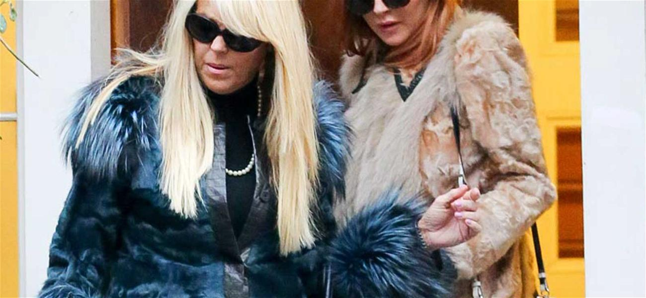 Lindsay and Dina Lohan Are Looking Chic in The City