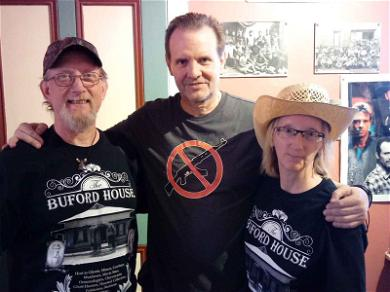 'Tombstone' Star Michael Biehn Takes Heat for Wearing Anti-Assault Weapon Shirt to Event Honoring the Film