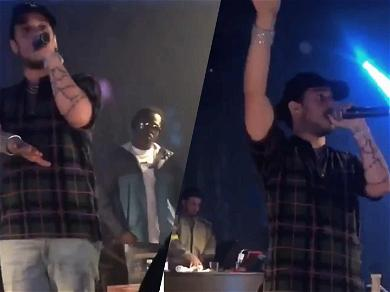 Rapper Russ Gets Kicked Off the Stage in Las Vegas After Trashing New Palms Club