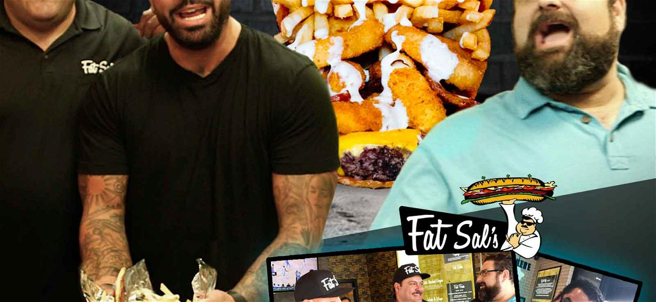 The Blast Takes on Fat Sal's Pizza Sandwich … and It Gets Messy