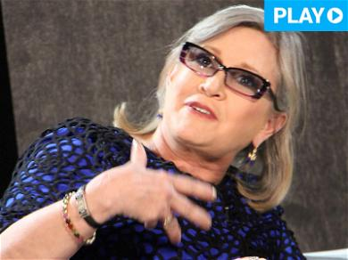 Carrie Fisher Once Threatened to Cut Off Sony Exec's Penis for Allegedly Harassing Her Friend