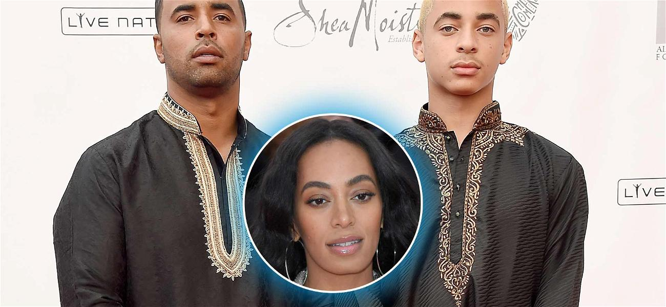 Beyonce's Nephew Makes Rare Appearance With His Father at Tina Knowles Event