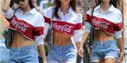 Emily Ratajkowski Is Good Til the Last Drop in Coca-Cola Swag