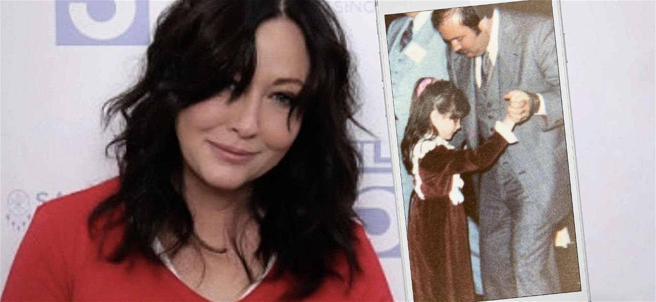 Shannen Doherty Pens Tearful Tribute To Late Father After Best Friend's Death