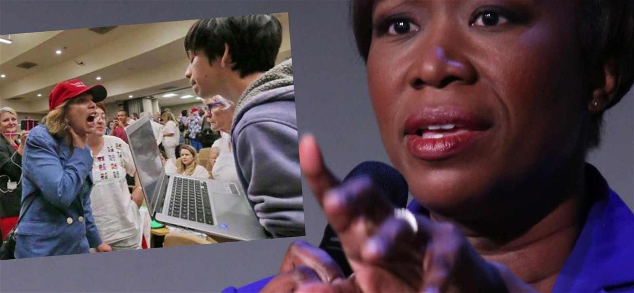 MSNBC Host Joy Reid Sued by Trump Supporter Over Claims She Hurled Racial Slurs at Teenager