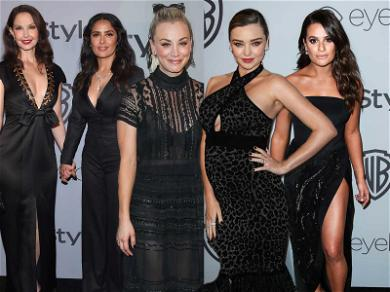The All-Black Dress Code Extended to the Golden Globes After Parties