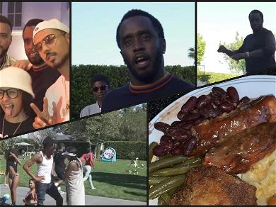Diddy's Soul Food Sunday Looks Way Better Than Kanye West's Sunday Service