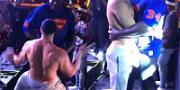 Shaq Takes on Rob Gronkowski During Epic Dance Battle