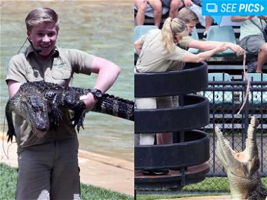 Steve Irwin's Son Robert Celebrates Birthday by Feeding Crocs