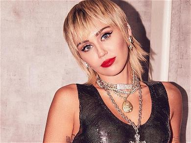 Miley Cyrus Strips Down For Gravity-Defying Yoga Splits