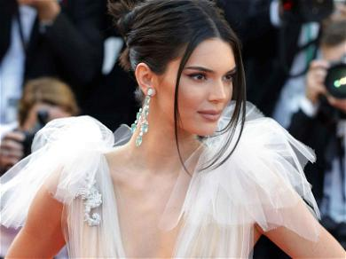 Kendall Jenner and Her Nips Back Out Again at Cannes