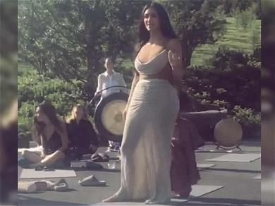 Kim Kardashian Throws Chillest CBD-Themed Baby Shower Ever