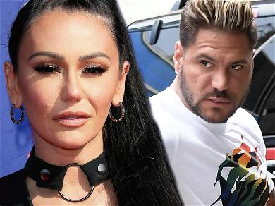 'Jersey Shore' Stars JWoww & Ronnie Ortiz-Magro Reunite For Baptism After 'Corpse' Meltdown