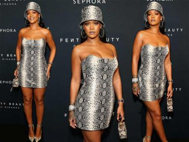Rihanna Is the Sexiest Serpent in Head-to-Toe Snakeskin