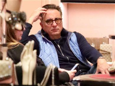 Andy Garcia Holiday Shopping is All of Us Right Now