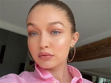 Gigi Hadid Goes Full Sexy Gamer Girl, Plays Her Own Game!?