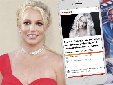 Britney Spears' Fans Want Confederate Monuments Replaced With Statues Of Pop Princess