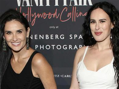 Demi Moore And Daughter Rumer Willis Give Off Sister Vibes On The Red Carpet