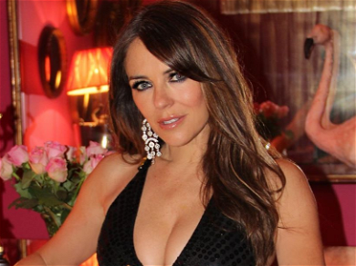Elizabeth Hurley Stuns Wearing No Pants For A Good Cause!
