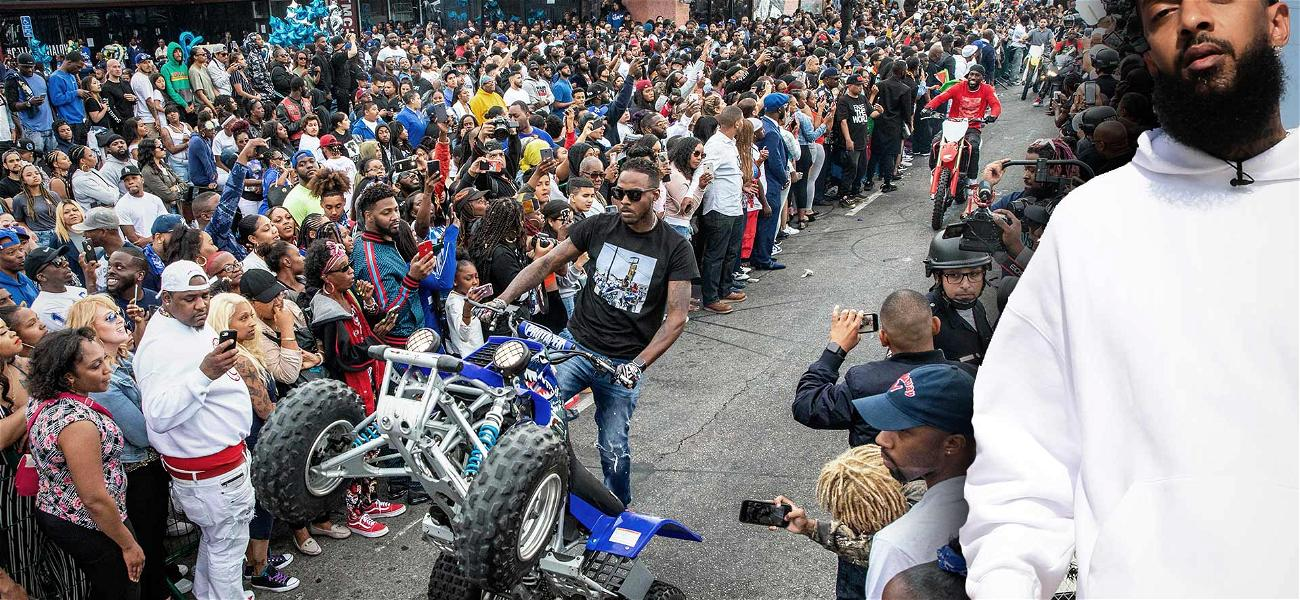 Drive-By Shooting Leaves 3 Injured, 1 Dead During Nipsey Hussle Funeral Procession