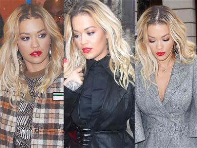 Rita Ora Changed Three Times in Record Time Today