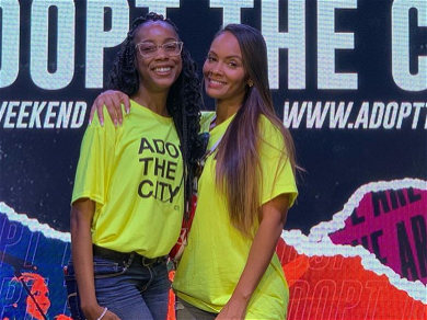 'Basketball Wives' Star Evelyn Lozada Helps Out Domestic Violence Victims Amid OG Drama