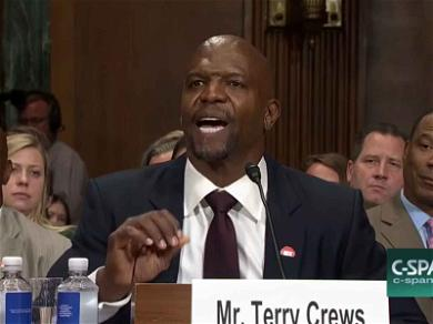 Terry Crews Testifies on Capitol Hill: Black Men in America 'Only Have a Few Shots at Success'