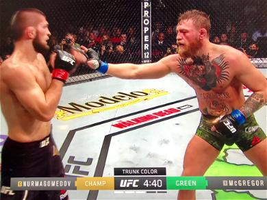 Conor McGregor Loses! Khabib Wins by Submission then Brawls, Multiple Entourage Members Arrested