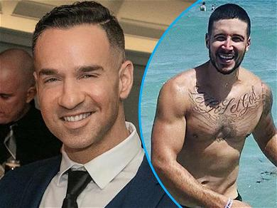 Mike 'The Situation' Sorrentino Drags Vinny Guadagnino For Shirtless Yacht Shot