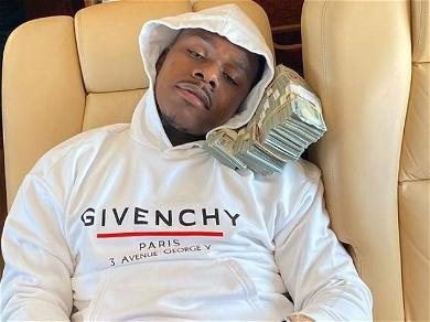 DaBaby Shows Off Huge Iced Out Baby Pendant
