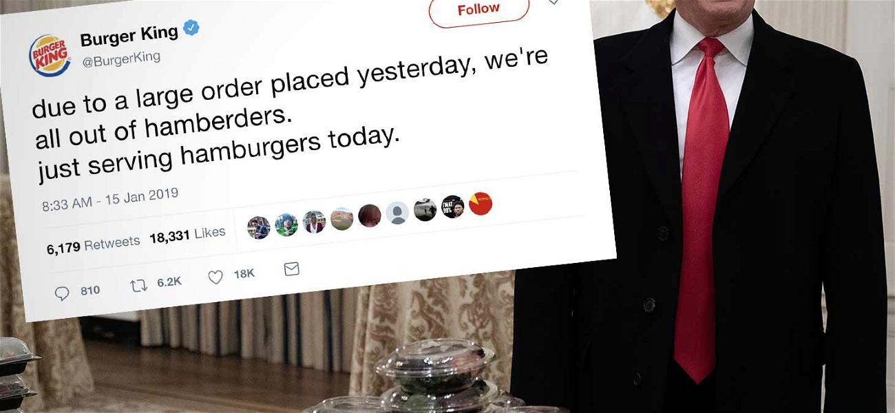Burger King Flame Broils Donald Trump Over 'Hamberders' Tweet