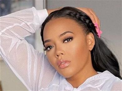 Angela Simmons Flaunts Apple Bottom Gains With Cake Stretch