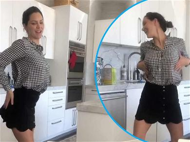 Watch Katharine McPhee Attempt J.Lo's Super Bowl Halftime Dance For Viral Challenge