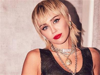 Miley Cyrus Gets Explicit In Skimpy Spandex Showing Weekend Gains