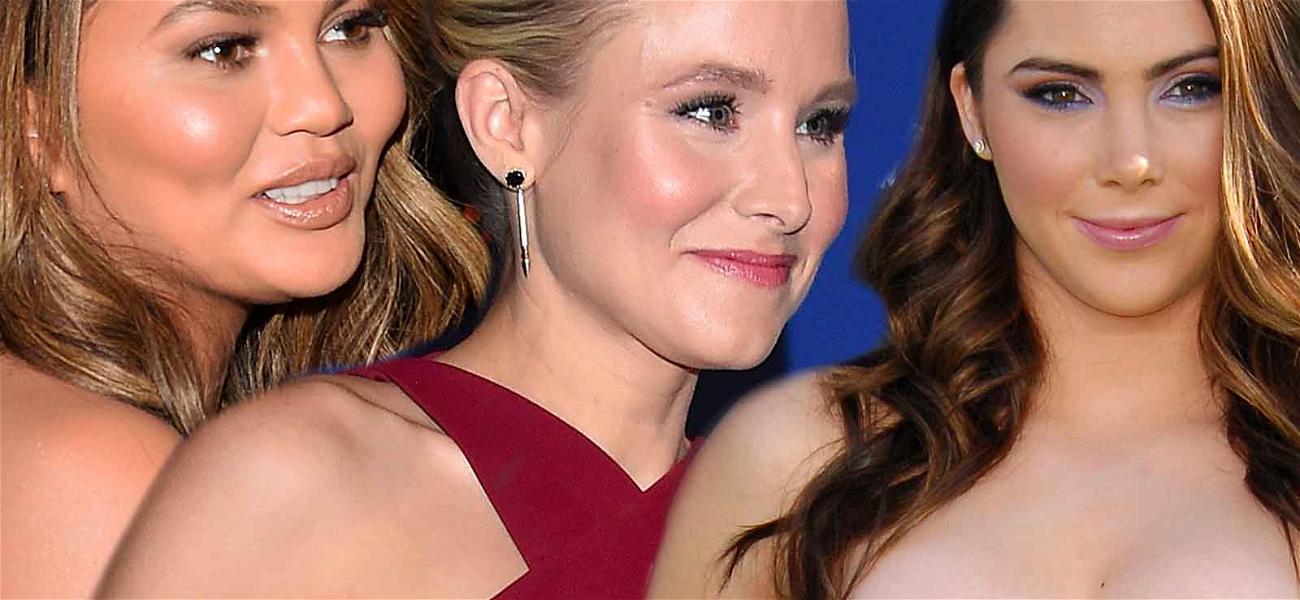 Chrissy Teigen, Kristen Bell Offer to Pay Potential $100K Fine So McKayla Maroney Can Speak About Abuse in Court