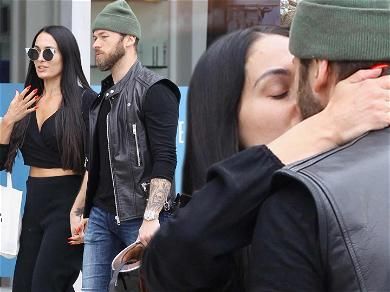 Nikki Bella Cuddles Up to Artem Chigvintsev Following Twitter Feud With John Cena