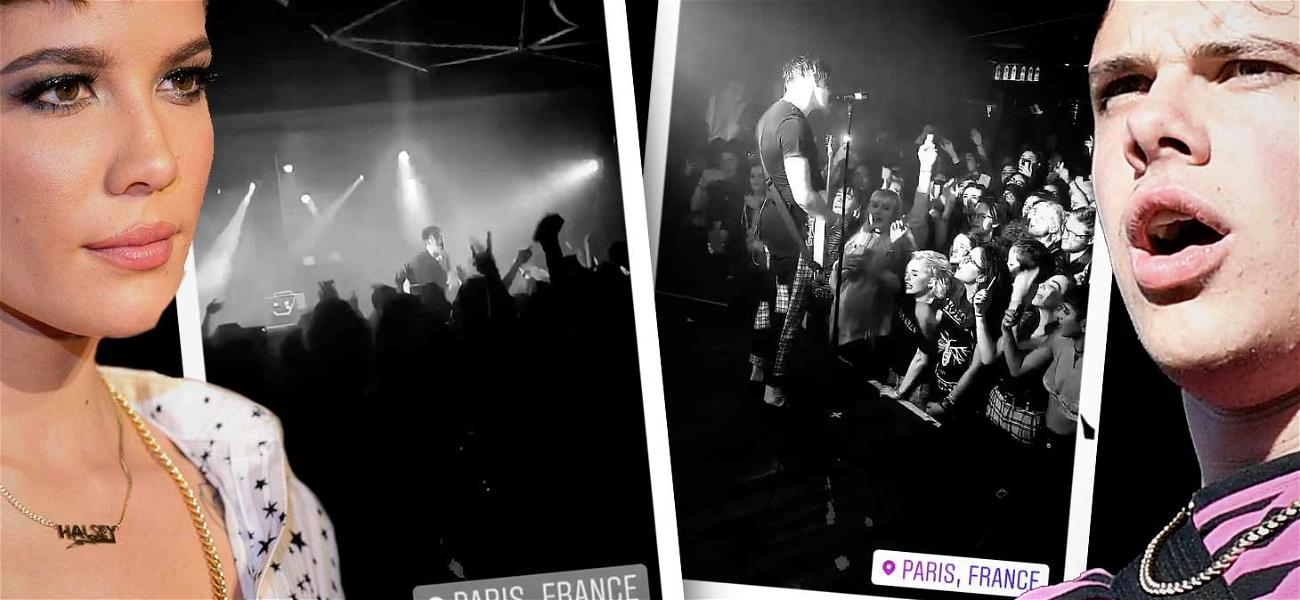 Halsey is Yungblud's Ultimate Fangirl In The City Of Love