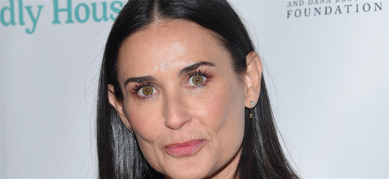 Demi Moore Makes 'Indecent Proposal' On Valentine's Day