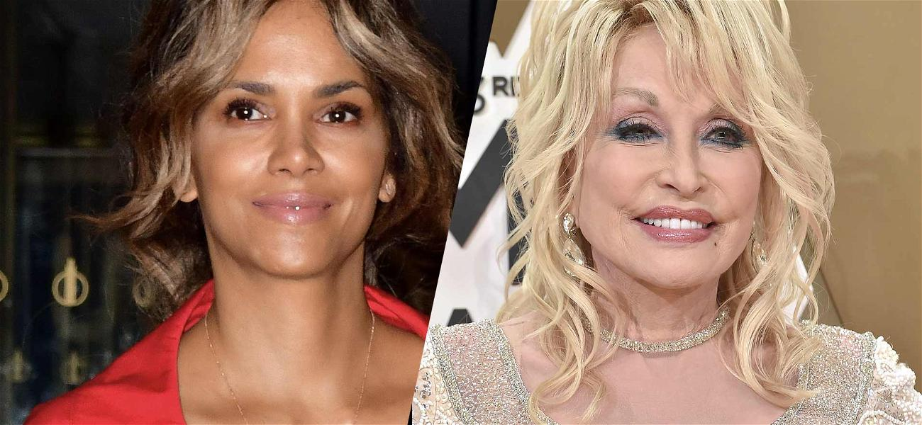 Halle Berry Wins Dolly Parton Challenge With Mind-Blowing Tinder Pic